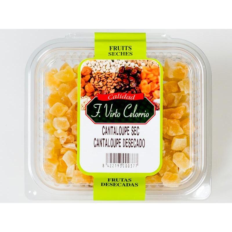 Bandeja de cantaloupe melón 190gr.