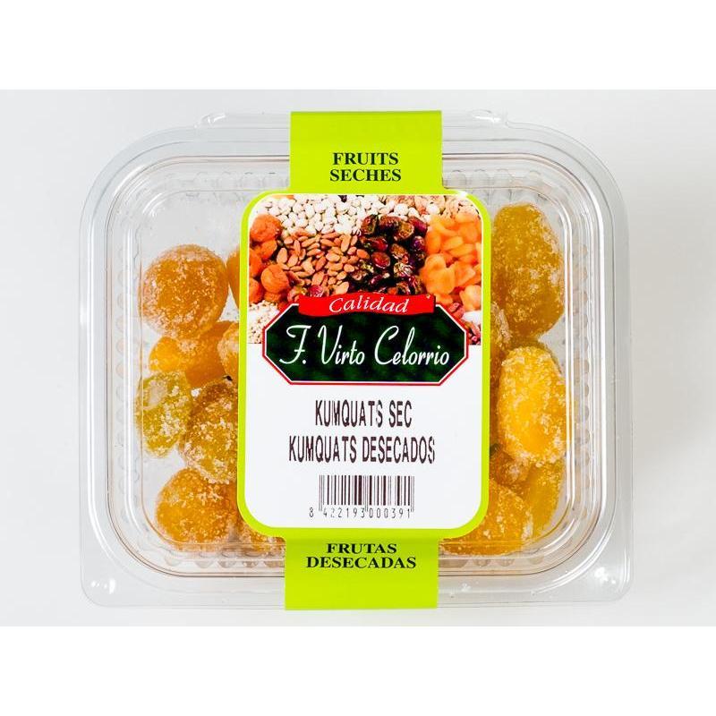 Bandeja de Kumquats deshidratados 200gr.